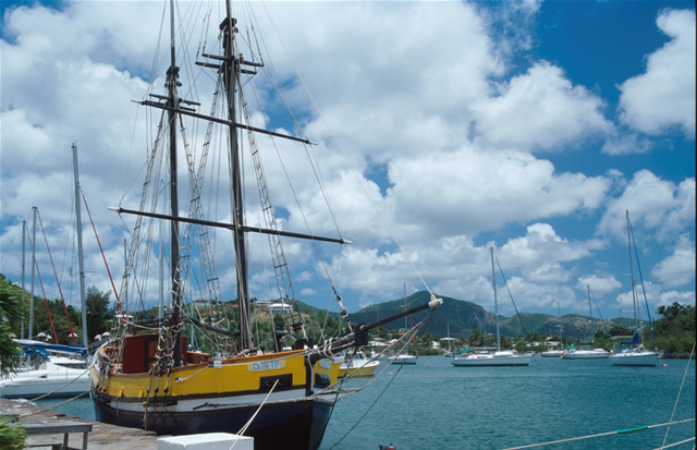 Nelson\'s Dockyard, Antigua & Barbuda