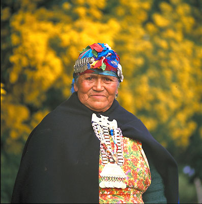 Mujer Mapuche, Chile