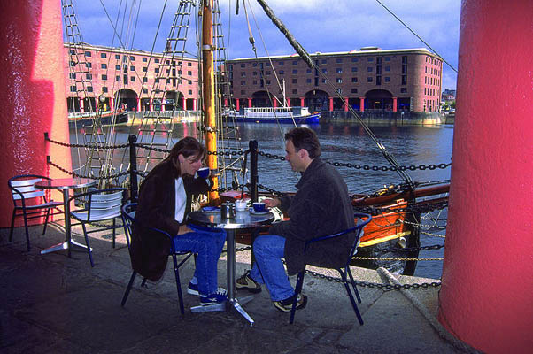 Liverpool, Albert Docks, England