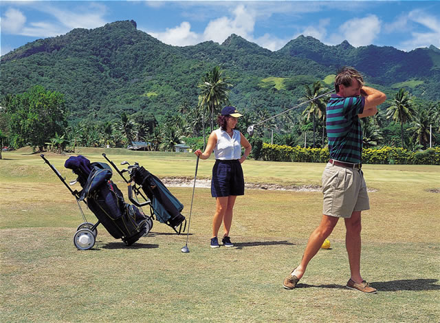 Golf, Cook Islands