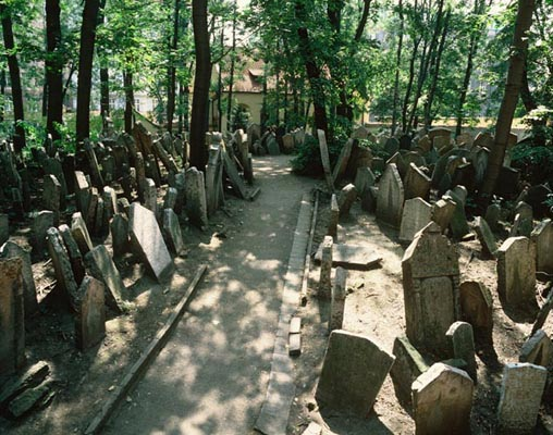 The Old Jewish Cemetery, Prague, Tschechien