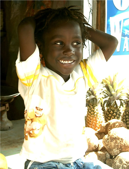 Ein Kind - A Kid, Antigua & Barbuda