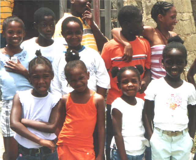 Schulkinder - Schoolkids, Antigua & Barbuda